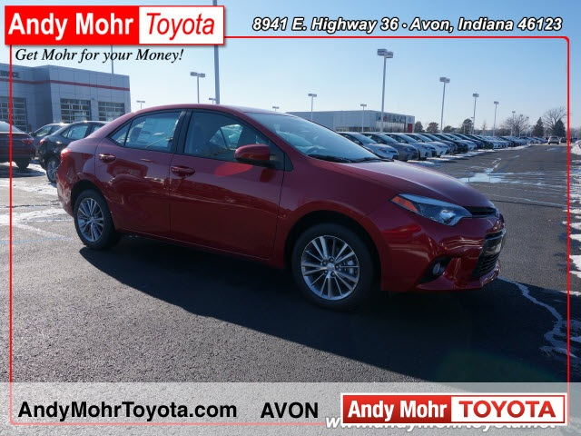 2015 Toyota Corolla LE Plus 4D Sedan