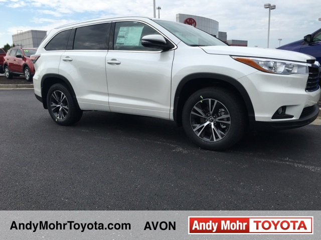 new 2016 toyota highlander xle v6 4d sport utility near indianapolis t16914 andy mohr toyota. Black Bedroom Furniture Sets. Home Design Ideas